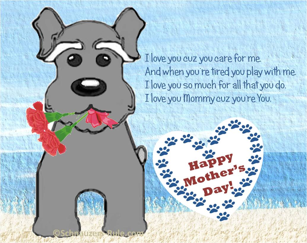 Mother;s Day Dog Card