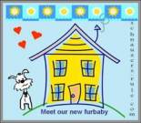 New Pet Announcement e-card, dog ecard, schnauzer card