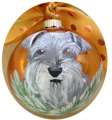 Nina the Mini Schnauzer ornament