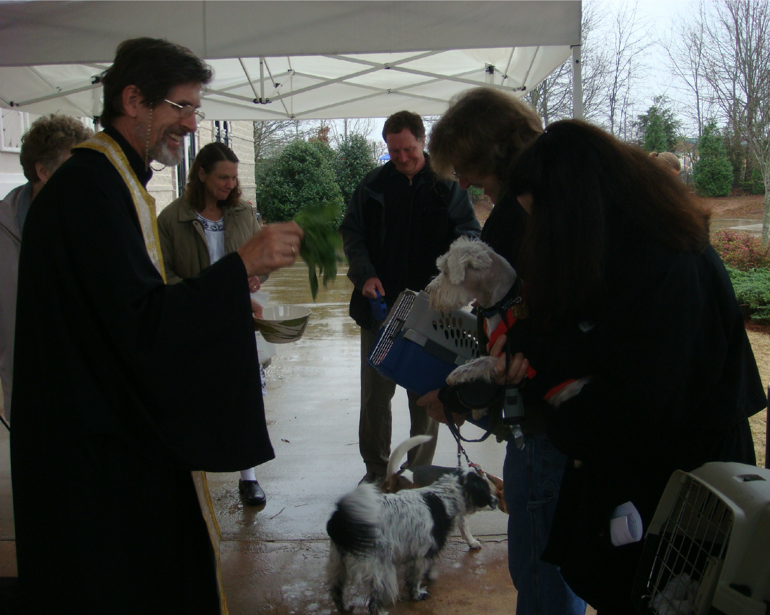 Blessing of the Animals Prayer Ceremony | St Modestus, St