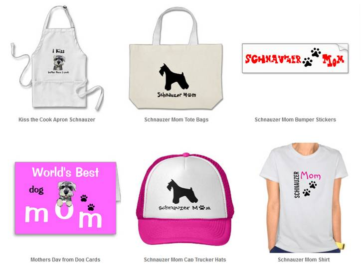 Gifts From The Dog Part - 22: Schnauzer Mom Gifts