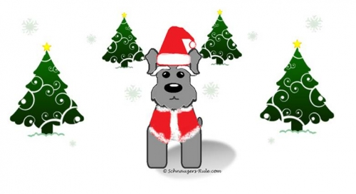 Schnauzers 12 Days of Christmas