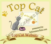 Cat Website Award