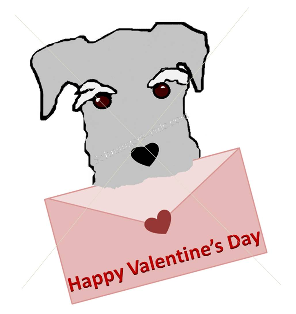 Dog Thank You Valentine Card