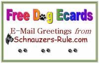 dog ecards, free dog ecards, Schnauzer ecards