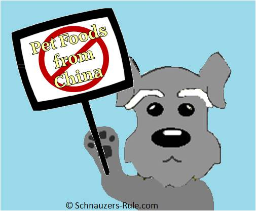 No Pet Foods From China