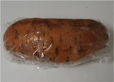 Wrap sweet potato in cling wrap and microwave